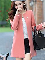 Cappotto Da donna Vintage Manica lunga Altro