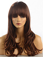 2015 Women Ombre Fashion Natural Wavy Janpanese Heat Resistant Synthetic Hair Wig M16463-#1233 22