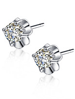 925 Sterling Silver Earring Studs Fashion Silver Jewelry