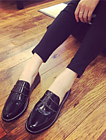 Women's Shoes Low Heel Closed Toe Loafers Casual Black