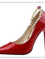 Women's Shoes Stiletto Heel Heels Heels Outdoor Black / Purple / Red / White / Gray