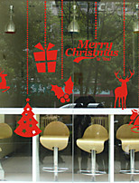 Christmas Window Sticker Contemporary , Art Deco 100*75cm