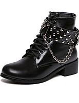 Women's Shoes Low Heel Fashion Boots Boots Casual Black