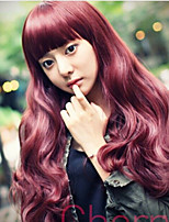 Long Fashion Wave Synthetic Wig Heat Resistant Fiber