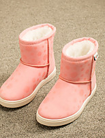 Girls' Shoes Casual Snow Boots / Comfort Fabric Boots Black / Pink