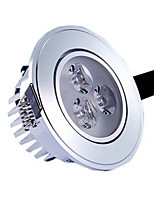 Lampes Encastrées Décorative Blanc Chaud / Blanc Froid HRY 1 pièce 3W 3 LED Haute Puissance 350 LM AC 85-265 V
