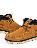 Men's Shoes Casual Suede Boots Black / Blue / Brown / Yellow