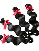 Brazilian Virgin Hair Body Wave Hair Extensions 1B Unprocessed Human Hair Weaves 4 Bundles