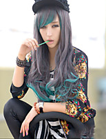 Fashion Cartoon No Capacitance High Temperature Wire Gray Gradient Wig