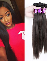 Best Selling Human Hair Weaving Indian Remy Straight Human Hair Extension 100g/PCS In Stock