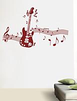 Music / Fashion Wall Stickers Plane Wall Stickers , PVC 40cm*65cm