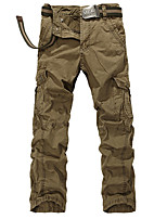 Outdoor overalls han edition straight men's casual pants pants Men's pocket more outdoor trousers