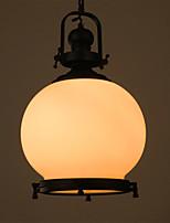Lampe suspendue - Contemporain / Vintage / Rétro / Lanterne / Rustique / Plafonnier pour Ilôt de Cuisine - avec Style mini - Métal