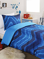 2 Piece Printed Duvet Cover Set - Super Soft Classic Print High Quality 100% Premium Cotton Hypoallergenic Set Bedding
