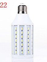 Incandescent Bulbs , B22 15 W SMD 5730 LM Warm White / Natural White AC 220-240 V