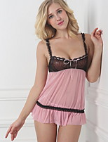 Women Lace Sexy Lingerie / Robes / Ultra Sexy Nightwear , Lace