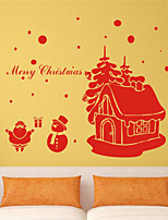 Christmas / Fashion Wall Stickers Plane Wall Stickers , PVC 75cm*55cm