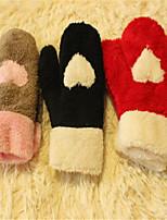 Ms More Cute Plush Cartoon Love All Gloves