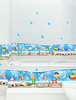 Wall Stickers Wall Decals, Ocean World PVC Wall Stickers