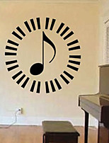 Music / Fashion Wall Stickers Plane Wall Stickers , PVC 61cm*61cm