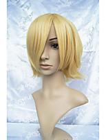 Lanting cos ouran Koukou hostclub mel loiro cosplay peruca partido anime cabelo
