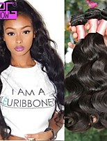 10-30inch Stock Natural Black Hair Body Wave Virgin Malaysian Human Hair Extension