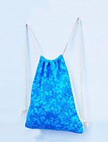 Unisex Cotton Weekend Bag Backpack - Blue