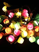 2PCS 28 LED Lantern 7 kinds of Lights Changing Party Effect Fruit Lamps