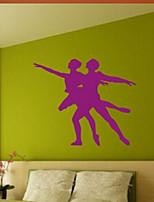 Moda / Pessoas Wall Stickers Autocolantes de Aviões para Parede , PVC 55cm*47cm