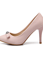 Women's Shoes Leatherette Stiletto Heel Heels Heels Outdoor / Dress / Casual Black / Blue / Pink / Red / Beige