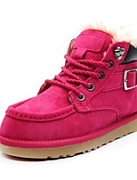 Women's Shoes Suede Flat Heel Cowboy / Western Boots / Snow Boots / Motorcycle Boots / Combat Boots BootsOffice & Career