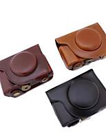 dengpin pu leren camera case tas hoes met schouderband voor Olympus SH-2 sh-1 (verschillende kleuren)