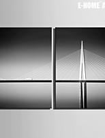 Architettura Print Canvas Due pannelli Pronto da appendere , Verticale
