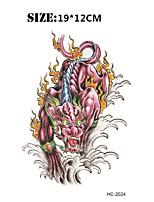 (1pcs) New Animal Vs Totem Temporary Tattoo Waterproof Sexy Armband Tattoo Body Art Big Fake Tatoo Stickers