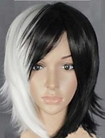 Popular in Europe And The Black And White Hair COS Anime Wigs