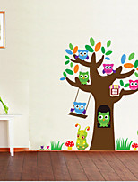 Animals Wall Stickers Plane Wall Stickers , PVC 30cm*90cm