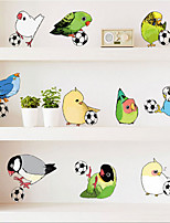 Animals / Cartoon / Fantasy / Sports Wall Stickers Plane Wall Stickers , PVC 50cm*70cm