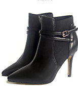 Women's Shoes  Stiletto Heel Pointed Toe Boots Casual Black