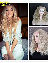 Great Blonde Wigs For White Women Brazilian Virgin Hair Full Lace Human Hair Wigs & Lace Front Wigs, 613# Blonde Hair