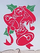 Christmas / Fashion Wall Stickers Plane Wall Stickers , PVC 72cm*55cm
