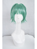 LanTing Cos  Assassination Classroom Kayano Kaede Green Short Cosplay  Party Anime Wig Hair