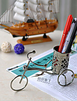 Creative Wrought Iron Bicycle Gift Pen Container Furnishing Articles Inspirational Iron Modern/Contemporary