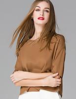 Women's Solid Black / Brown / Gray Cardigan , Vintage / Sexy Long Sleeve ,woolen sweater