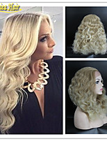 Blonde 613# Wig Medium Density Body Wave Full Lace Human Virgin Hair Wigs 8A Grade Human Hair Body Wave Wigs