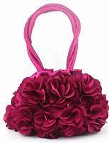 Women's Handbag Fashion Korean Style Bride Bag Slik Eevening Bag Sweet Mini Clutch Bag