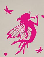 Fashion / Persone Adesivi murali Adesivi aereo da parete , PVC 77cm*57cm