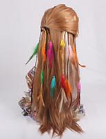 Grampos de cabelo (Pena / Tecido) - Diário / Casual