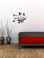 Botánico / De moda Pegatinas de pared Calcomanías de Aviones para Pared , PVC 66cm*54cm