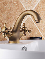 Antique Inspired Bathroom Sink Faucet