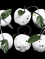Ornements - Blanc - Noël  - en Plastique